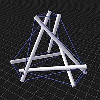 a tensegrity structure